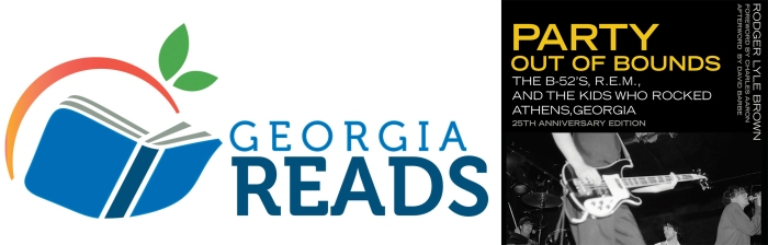 Georgia Reads logo with POB